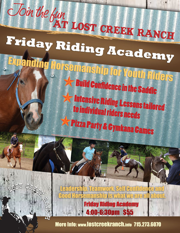 lost creek ranch youth horse riding fridays