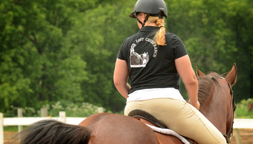 lost creek ranch horseback riding lessons beldenville w