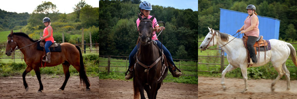 beginner youth horse riding lessons lost creek ranch wi