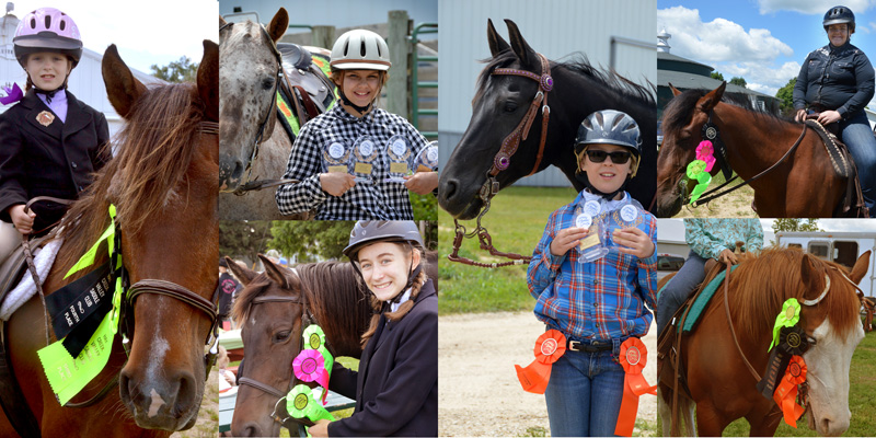 lost creek ranch wi youth show team