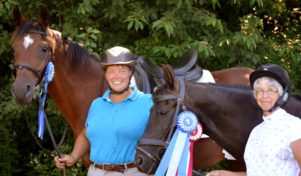 lost creek ranch wi adult dressage show team