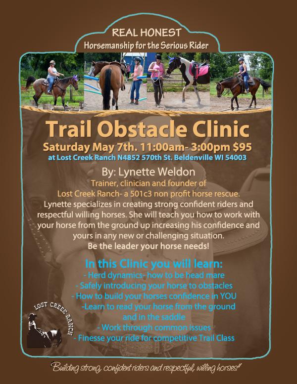 Trail Clinic by Lynette Weldon Lost Creek Ranch