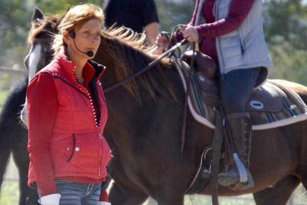 western dressage trainer clinician lynette weldon lost creek ranch beldenville wi