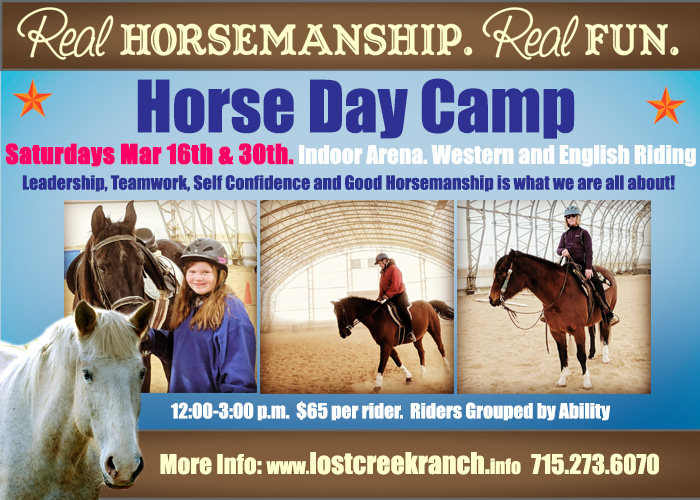 lost creek ranch wi youth day camp youth horse camp horseback riding camps wi