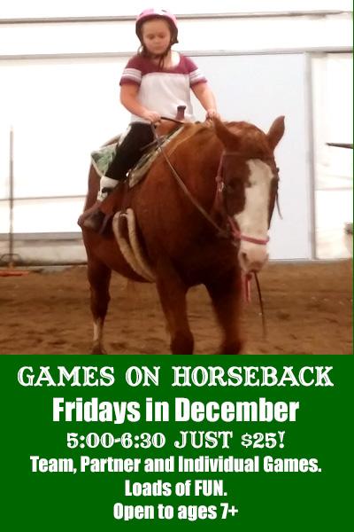 lost creek ranch wi youth horseback riding game nights