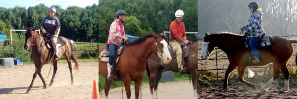 lost creek ranch wi adult horse riding lessons
